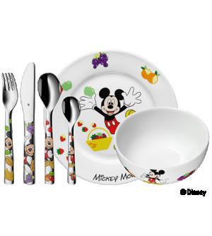 Conjunto 6 Peças Mickey Mouse Disney
